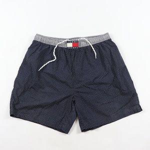 Vintage Tommy Hilfiger Spell Out Polka Dot Shorts